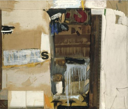 Composition in Collage, Photograph, 1959, Robert Rauschenberg