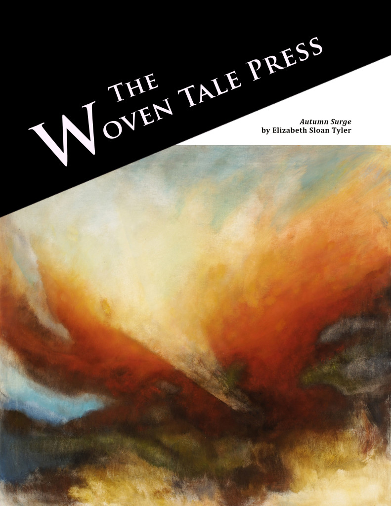 Cover of the issue In Memoriam of Elizabeth Sloan Tyler | The Woven Tale Press — click to see inside.