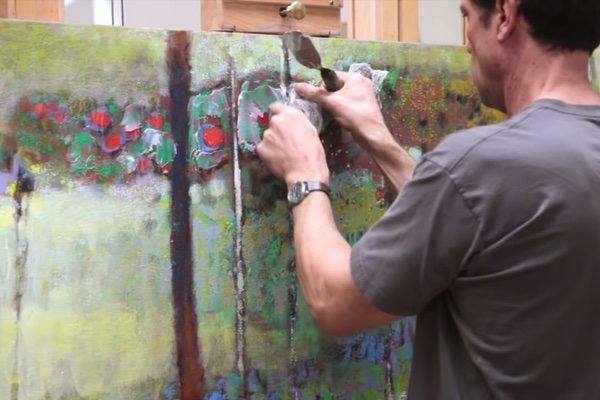 One Artist's Painting Process