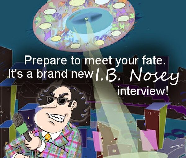 Julie Elizabeth Powell Sweats Out an Interview with I.B. Nosey