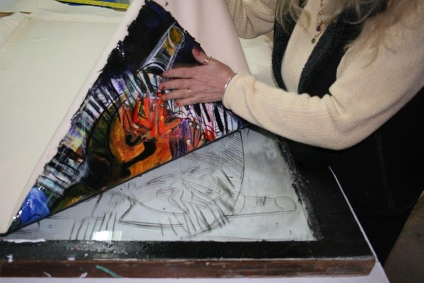 Glass Transfer Artist, Wren Panzella