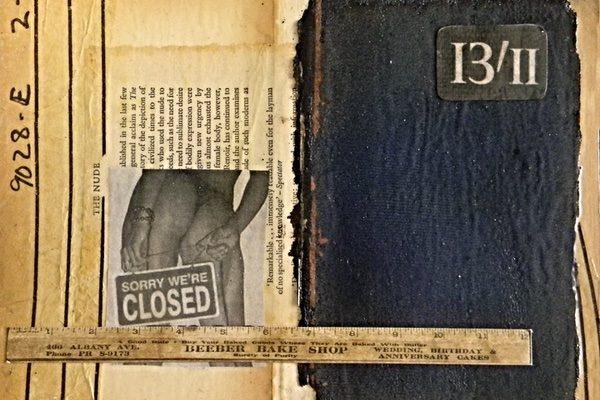 Artist Donald Kolberg creates art pieces from old books