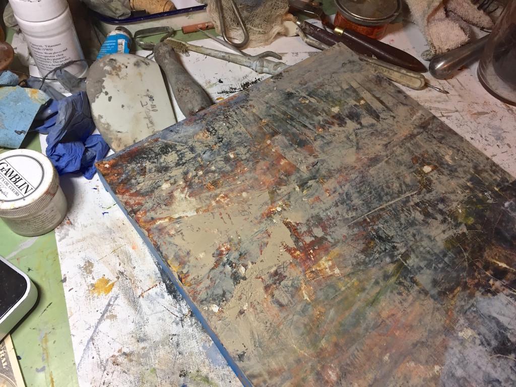 In Progress-Oil&Wax 2