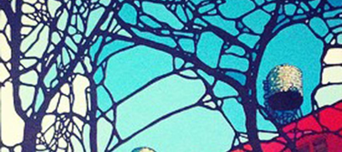 "Denitza Painting ""Red Ochre"""
