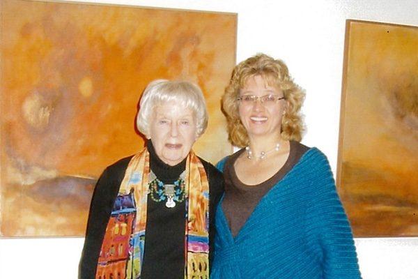 Elizabeth Sloan Tyler and Sandra Tyler
