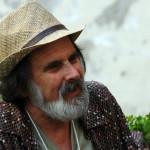 Poet activist Michael Rothenberg In Salerno, Italy June 2015 Photo ©Michael Dickel
