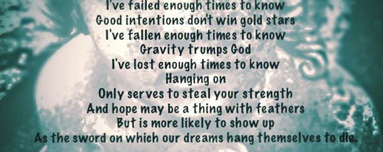A Poem from Natasha Head