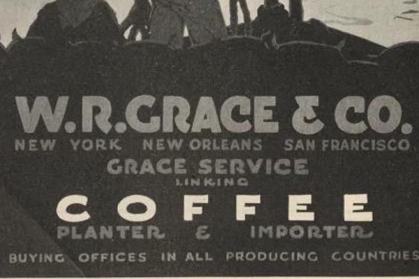 W.R. Grace & Co coffee advertisement
