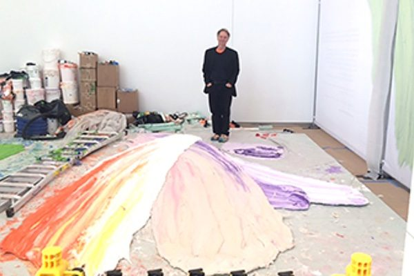 Donald Martiny in his One World Trade Center