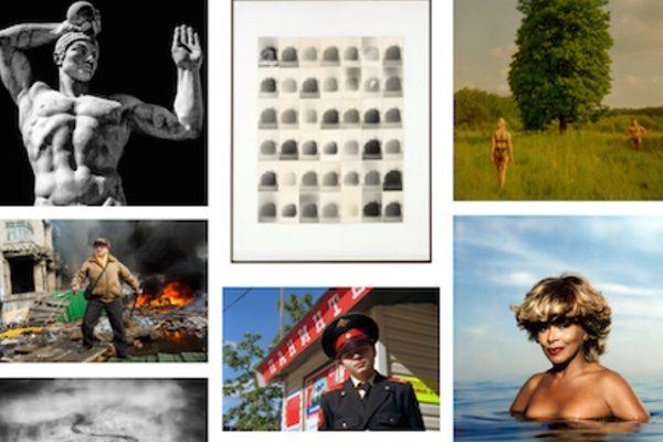 Screenshot from L'Oeil de la Photographie artist portfolios