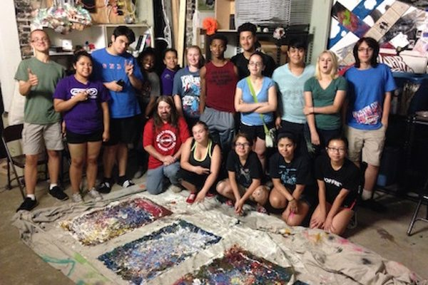 PaletteArt class with instructor Brian Rock