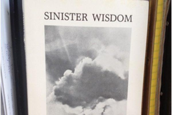 Lesbian feminist journal Sinister Wisdom