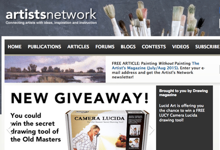 Home page of Artists Network