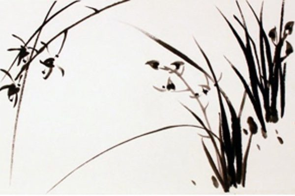 A water ink painting by Sungsook Hong Setton