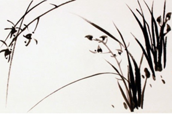 East Asian water-ink painting