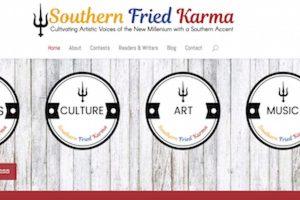 Southern Fried Karma website home page