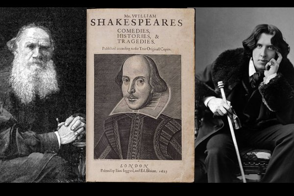 Images of Tolstoy and Shakespeare