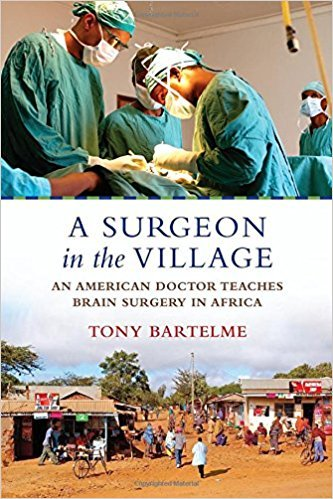 The cover of the memoir A Surgeon in the Village