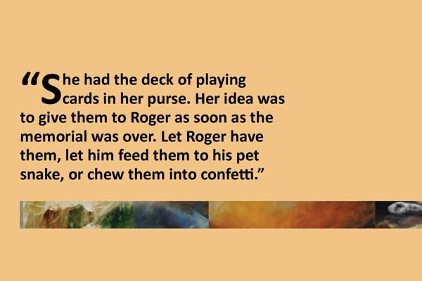 An excerpt from the short story