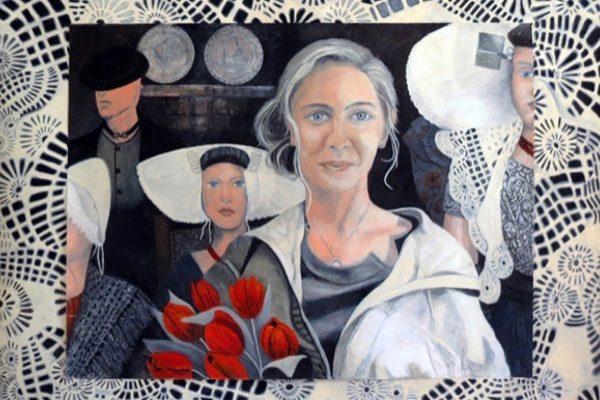 Loura van der Meule, Sophia.Oil pastel on paper, 42
