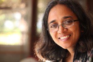 Portrait of author Vandana Singh