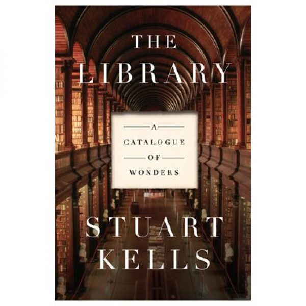 The cover of The Library by Stuart Kells