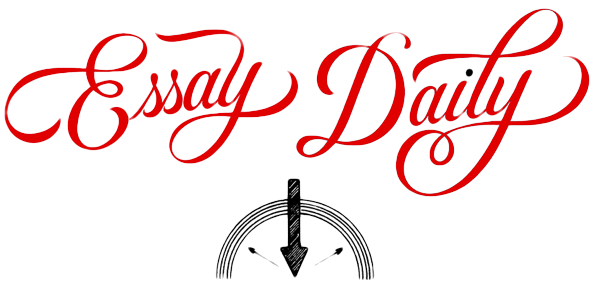 The logo for the Essay Daily website