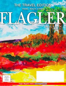 A cover of a magazine with a painting by Donald Kolberg