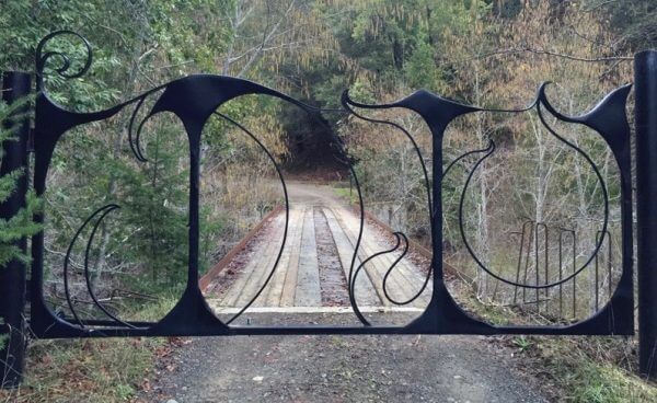 Driveway Gate by Monica Coyne
