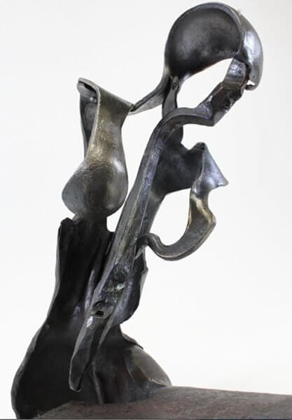 A sculpture by Monica Coyne
