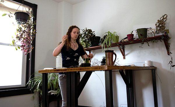 Hanna Vogel working
