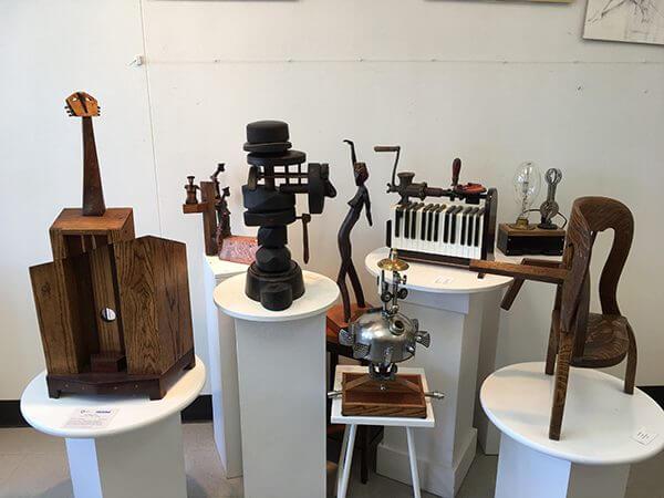 Michael Kesselman's studio