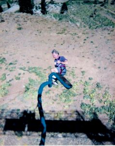 DeWitt Henry bungee jumping