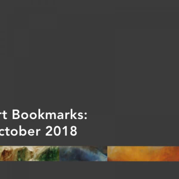 October 2018 Woven Tale Press art bookmarks