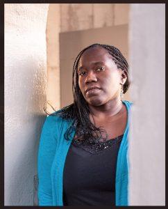 Portrait of poet Cynthia Manick
