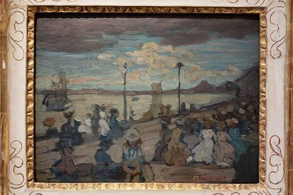 The Painting and Its Frame