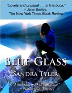 Blue Glass by Sandra Tyler
