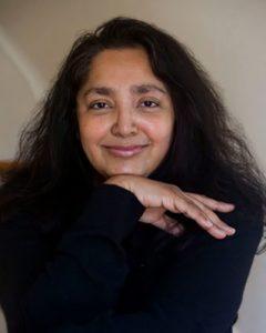 Headshot of writer Chaya Bhuvaneswar