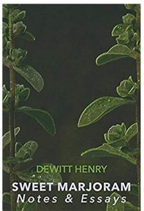 Sweet Marjoram by DeWitt Henry book cover