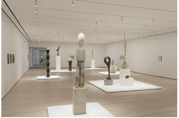 Brancusi Installation at the MoMA