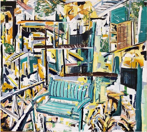 The Representational vs. the Abstract painting