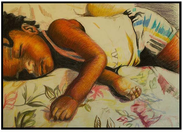 painting by Marie E. Saint-Cyr