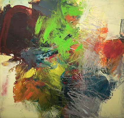 abstract expressionistid painting