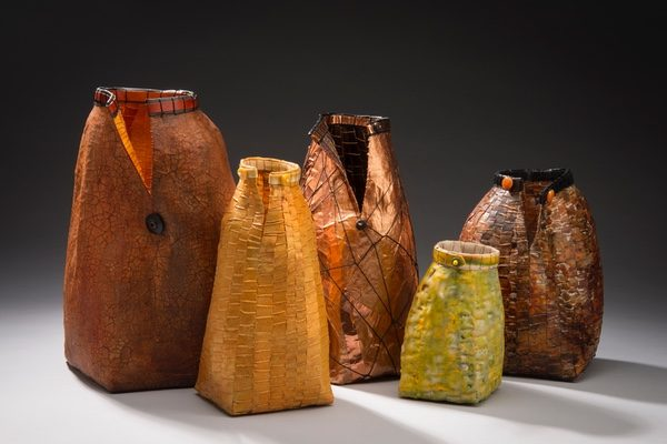 basket vessels by Jackie Abrams
