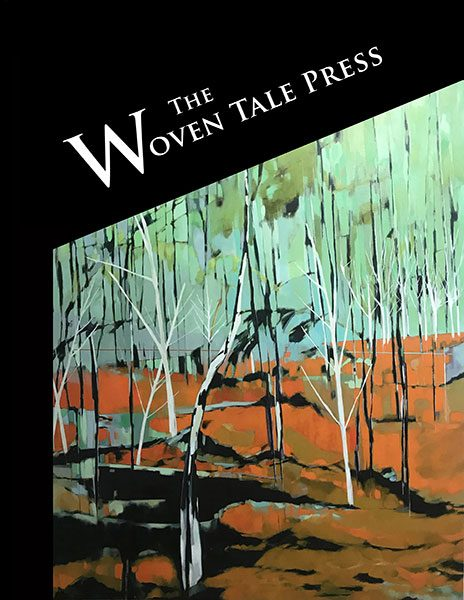 WTP Vol. VII #9 with digital painting abstracts, and exquisite tree paintings