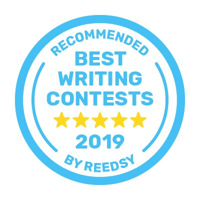 Reddsy best writing contests award button