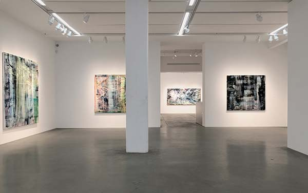 Gallery view of Matthias Meyer's solo exhibition