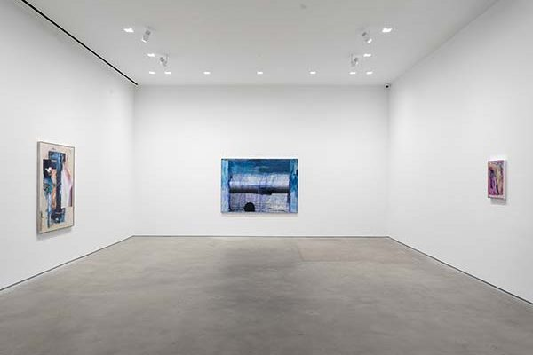 An installation view of Andro Wekua's solo exhibition