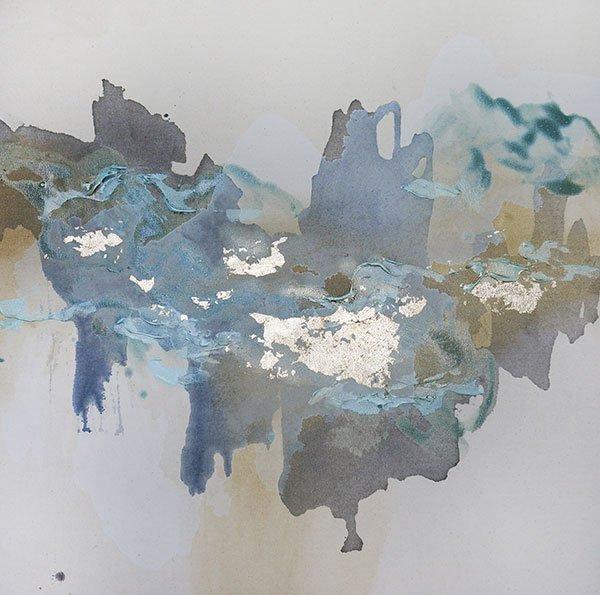 Christine Olmstead, Iridescent Light #4 Mixed media