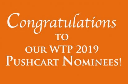 2019 Pushcart Nominations